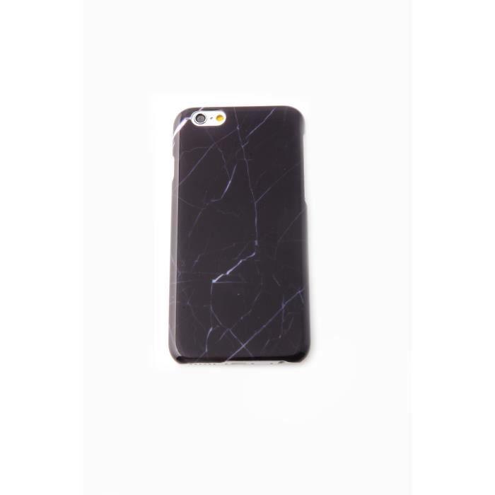 coque iphone 6 effet marbre noir