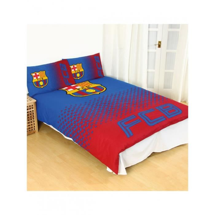 couette fc barcelone achat vente couette fc barcelone pas cher cdiscount. Black Bedroom Furniture Sets. Home Design Ideas