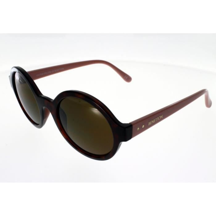 6b5b1373ce75d4 BENETTON BE 985 S Ecaille Femme Indice 3 - Achat   Vente lunettes de ...