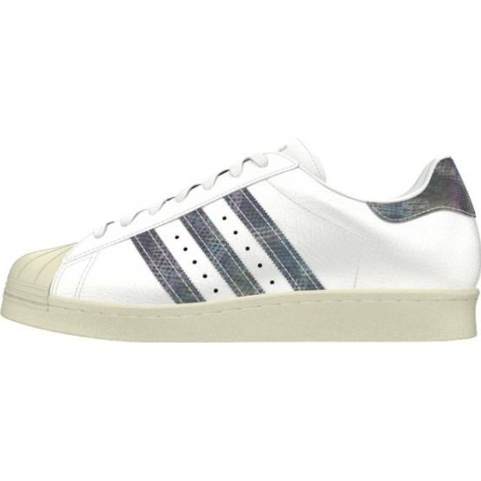 available new york official images Basket ADIDAS SUPERSTAR 80s - Age - ADULTE, Couleur - BLANC, Genre - FEMME