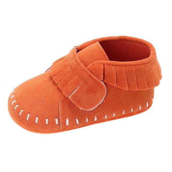 BOTTE Camouflage bébé doux semelle de neige bottes chaussures de crèche souples bottes pour tout-petits@Bleu foncéHM EKYp7