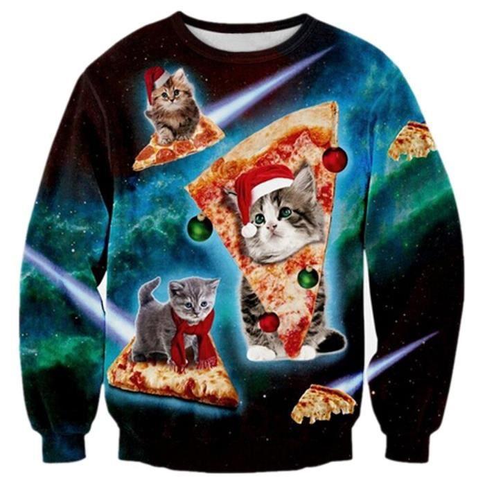 Photo De Noel Drole.Les Hommes De Noël Drôle Imprimé Sweatshirt Moche Laid Wo Unisexe Pull Moche Drôle Sweat 3d 1jmq9b Taille Xxl