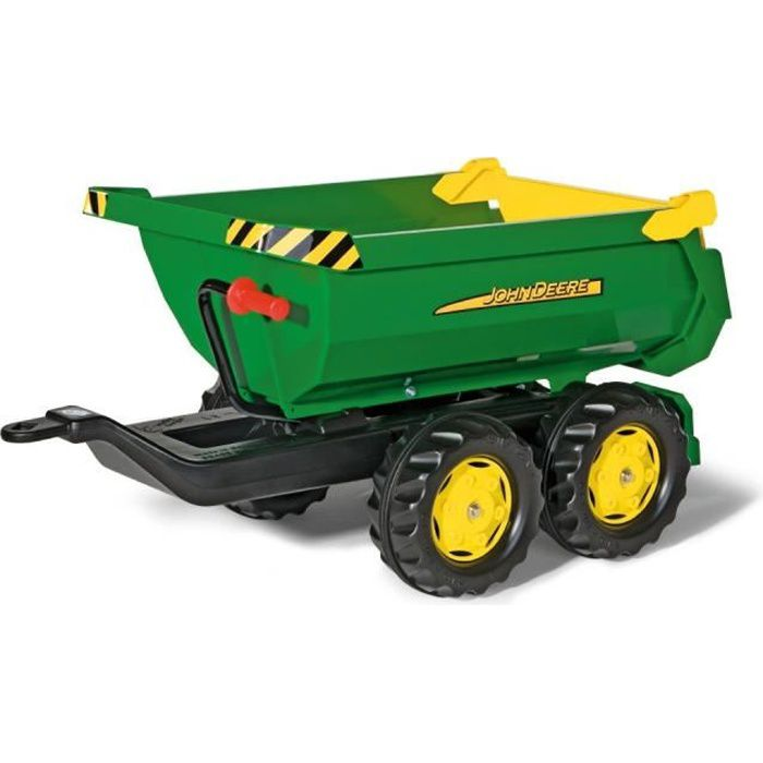 Remorque john deere achat vente jeux et jouets pas chers - Remorque tracteur enfant ...