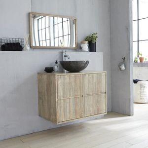 meuble suspendu de salle de bain en bois d hevea 8 Résultat Supérieur 15 Inspirant Meuble Salle De Bain Suspendu Photos 2017 Gst3