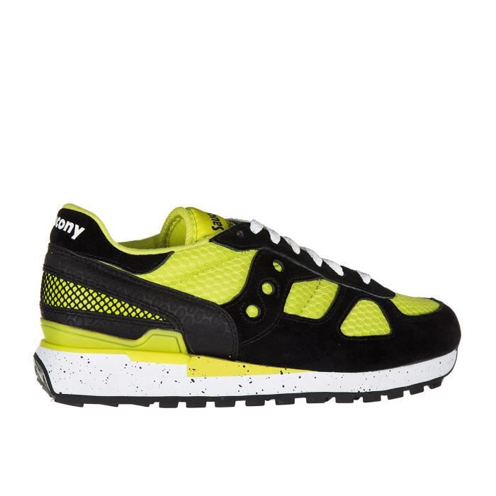 Chaussures baskets sneakers homme en daim shadow Saucony 2hasrhlb1