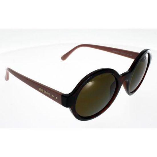 f58e210ad6c84a BENETTON BE 985 S Ecaille Femme Indice 3 - Achat   Vente lunettes de soleil  Femme Adulte - Soldes  dès le 9 janvier ! Cdiscount