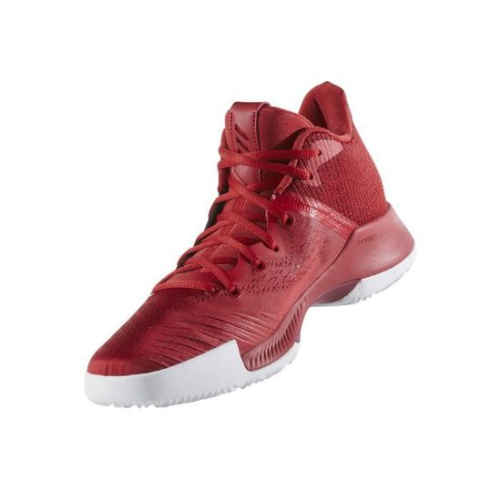 online store 225f8 a7544 Chaussures basketball adidas Mad Bounce Rouge - Prix pas cher - Cdiscount