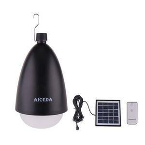 SUSPENSION D'EXTÉRIEUR Portable LED Lampe solaire,Télécommande control et