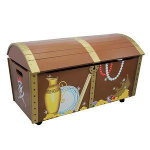 coffre jouets l le au tr sor achat vente coffre jouets 0812401016166 soldes d s le 27. Black Bedroom Furniture Sets. Home Design Ideas