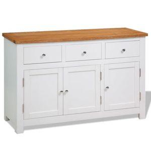 buffet enfilade 110 cm achat vente buffet enfilade 110 cm pas cher cdiscount. Black Bedroom Furniture Sets. Home Design Ideas
