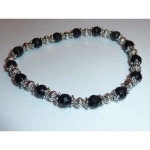 bracelet perle facette