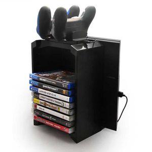 ETAGÈRE MURALE  3-en-1 Étagère de stockage disque pour PS4 / slim