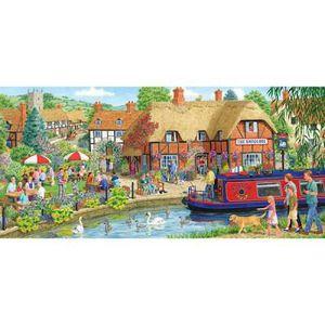 PUZZLE Puzzle 636 pcs - Déjeuner à l'auberge du cygne
