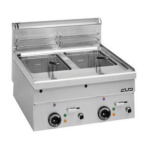FRITEUSE ELECTRIQUE  Friteuse électrique 2 X 10 litres PRO 400V