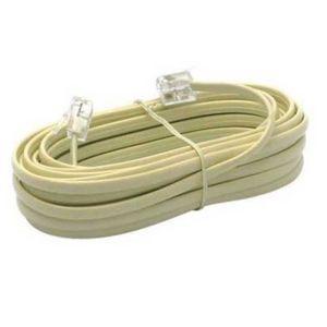 CÂBLE RÉSEAU  Cable telephone RJ11 10 metres