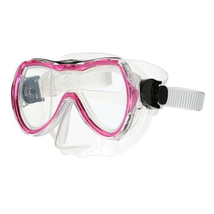 Masque de plongée Aquatech - Rose fuschia