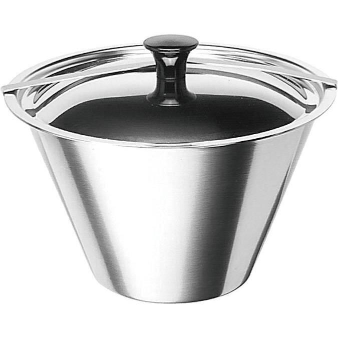 ARTAME Moule à flan bain marie avec couvercle - 1,4 L
