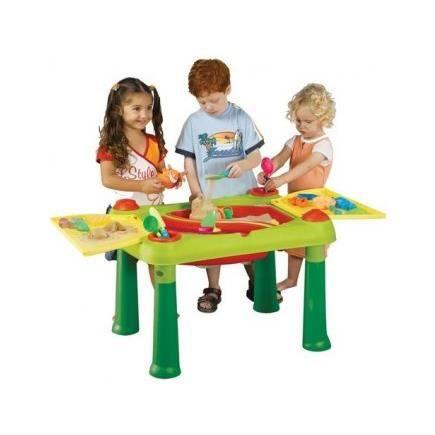table de jeux sable et eau keter plein air achat. Black Bedroom Furniture Sets. Home Design Ideas
