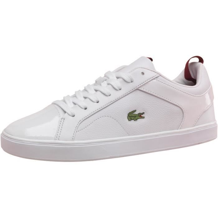 Baskets Lacoste blanches pour homme