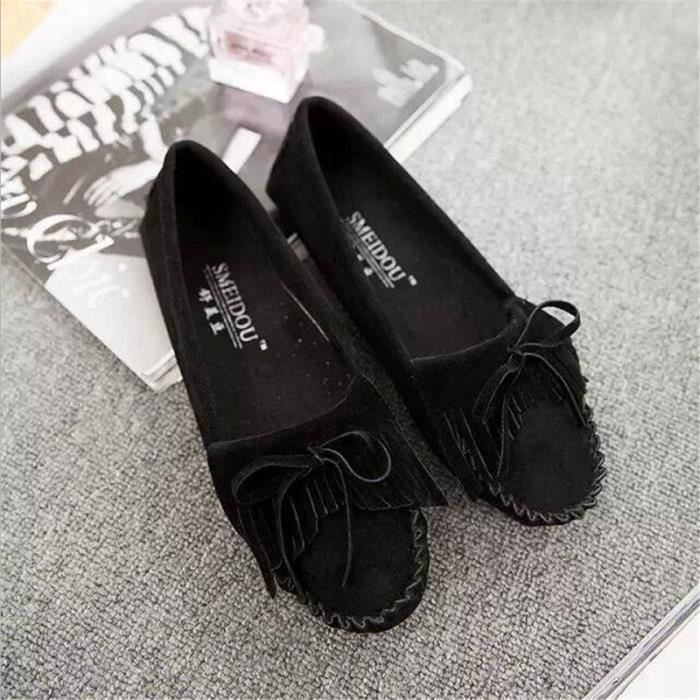 Laine en cuir pour hommes Chaussures montantes Casual chaud Bottes Automne & Hiver Mode Hip Hop Flat Sneakersnoir43,noir43