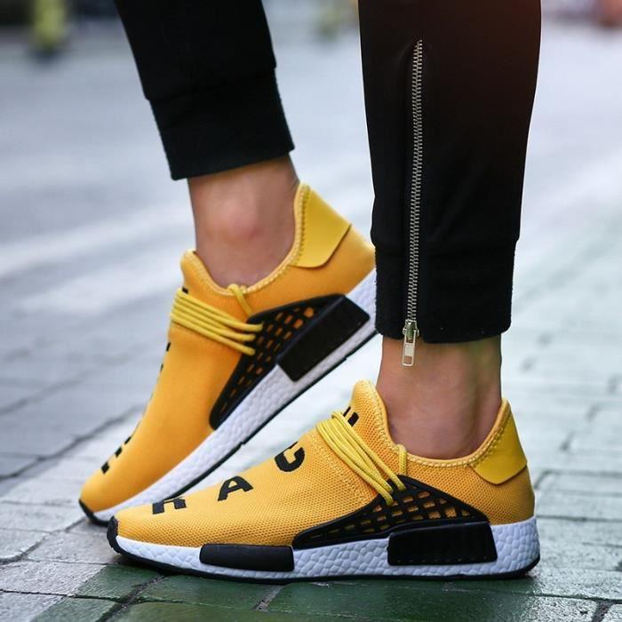 2017 Nouveau Femmes Respirant Chaussures de course léger Chaussures Hommes Sport Chaussures Sneakers chaussures de sport fnYnujAzki