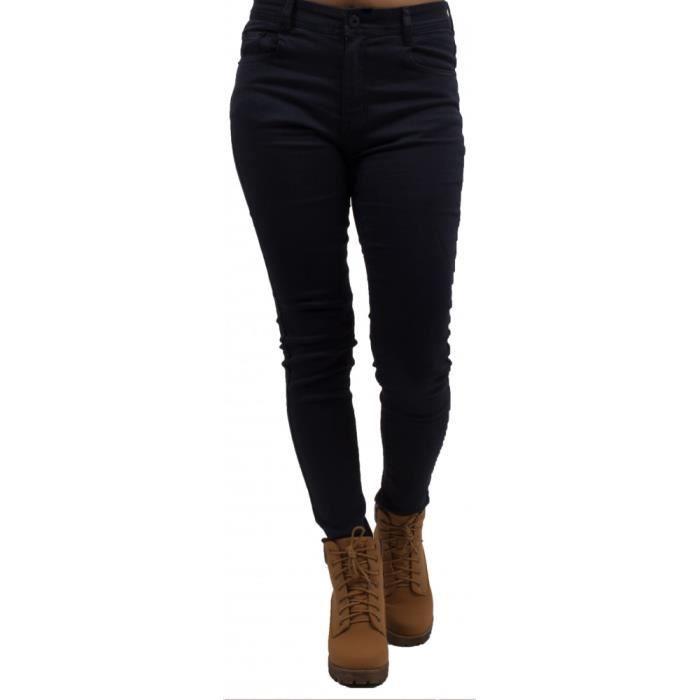 magasin britannique nouveau style de magasins populaires Jean skinny bleu marine taille haute ultra stretch pour femme-42