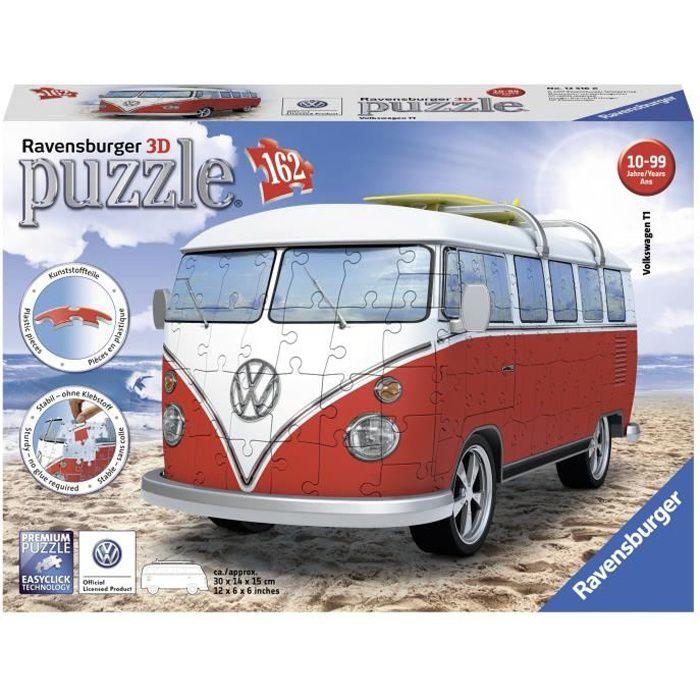 PUZZLE RAVENSBURGER Puzzle 3D Volkswagen Combi T1 162 pcs