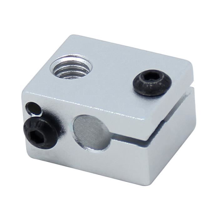 Bloc chauffant d alliage d aluminium V6 pour l extrudeuse J-tete de V5 V6  HotEnd Imprimante 3D de pieces chauffant l element 1302948dd96