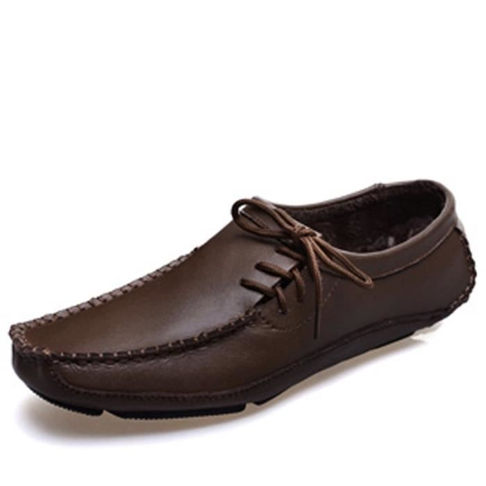Mode casual chaussures plates pour les hommes Mocassins C7dtMAtV