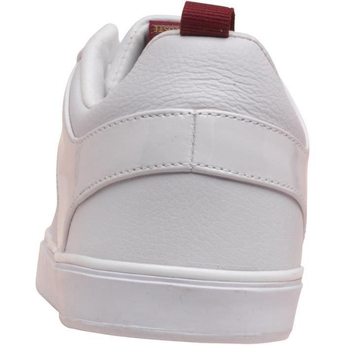 Baskets Lacoste blanches pour homme jDsGnnNM6