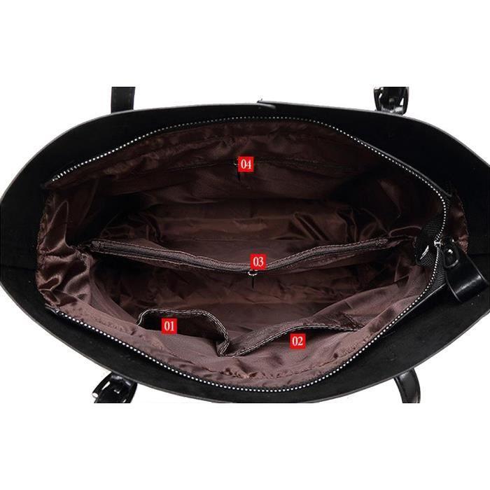 Sac à main de haute qualité Nouveau Mode Puleather Sacs à bandoulière Sacs fourre-tout Vente chaude Z3IAP