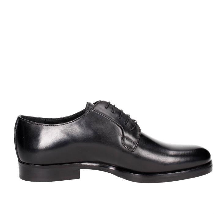 Marechiaro Classiques Chaussures Homme Noir, 44