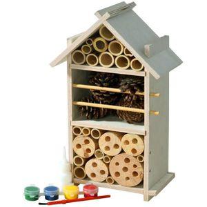 JEU D'APPRENTISSAGE 22369fsc Fsc bois d'insectes Hôtel Set pour les en
