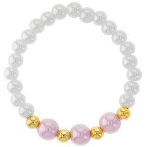 MAILLON DE BRACELET Bébé  Bracelet  Plaqué or 14k  Perles d'imitation