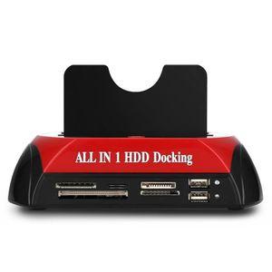 LECTEUR DE CARTE PHOTO 875 HDD Docking Station Lecteur de carte E-SATA Du