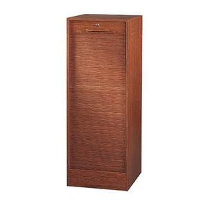 Meuble classeur a rideau chene achat vente meuble for Meuble classeur