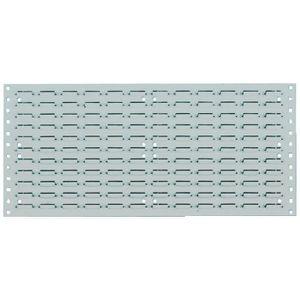 PANNEAU EXTÉRIEUR Panneau affichage étiquette 495x457 mm gris RAL 70