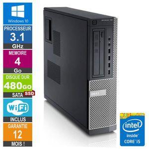 UNITÉ CENTRALE  PC Dell Optiplex 790 DT I5-2400 3.10GHz 4Go/480Go