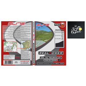 HOME TRAINER ELITE DVD Col Du Tourmalet Real Axiom / Real Power