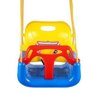 BALANÇOIRE - PORTIQUE Siège de balançoire pour enfant bleu