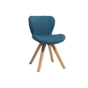 Chaise Scandinave Bleu