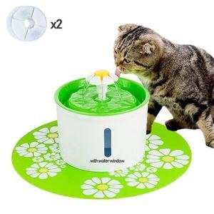 FONTAINE À EAU MOGOI 1.6L fontaine à eau pour chats et chiens ver