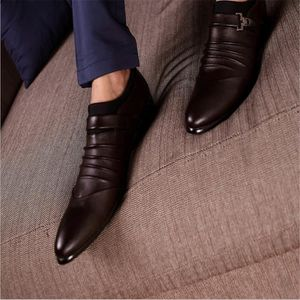 MOCASSIN Chaussure Homme business casual en cuir