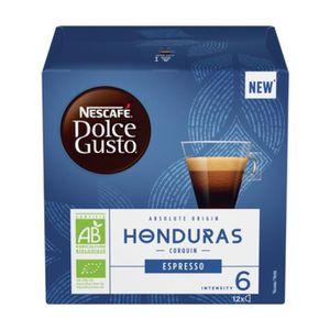 CAFÉ - CHICORÉE Nestle Nescafé Espresso Dolce Gusto Honduras, Caps
