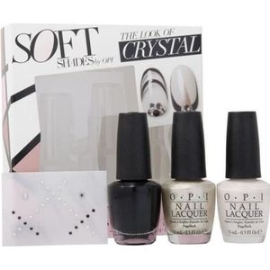 VERNIS A ONGLES Coffret Vernis à Ongles  OPI THE LOOK OF CRYSTAL -