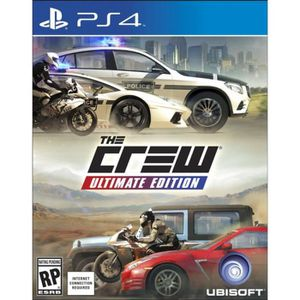 JEU PS4 The Crew: Ultimate Edition (PS4) - Import Anglais