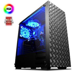 UNITÉ CENTRALE  VIBOX Centre 4S PC Gamer Ordinateur avec War Thund