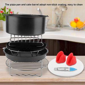 FRITEUSE ELECTRIQUE 7inch 9pcs / set Outil de cuisson panier Accessoir