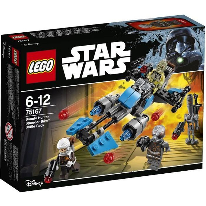Lego® 75167 Bounty Combat De Achat Wars Hunter Vente Pack Star hrQdts