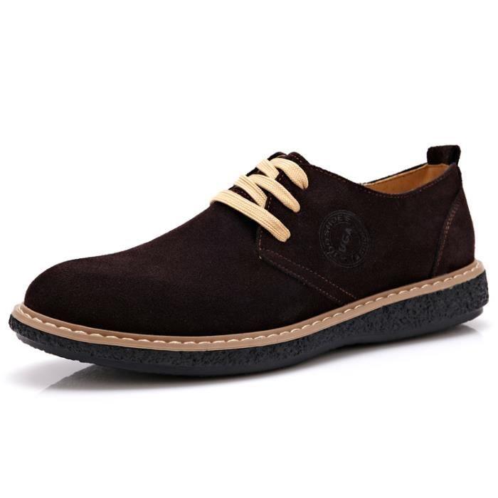 nouvelle mode des chaussures en cuir respirant leasure hommes